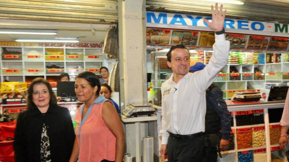 Promete Mikel Arriola transparentar fideicomiso de la Central de Abasto - Foto de Mikel Arriola
