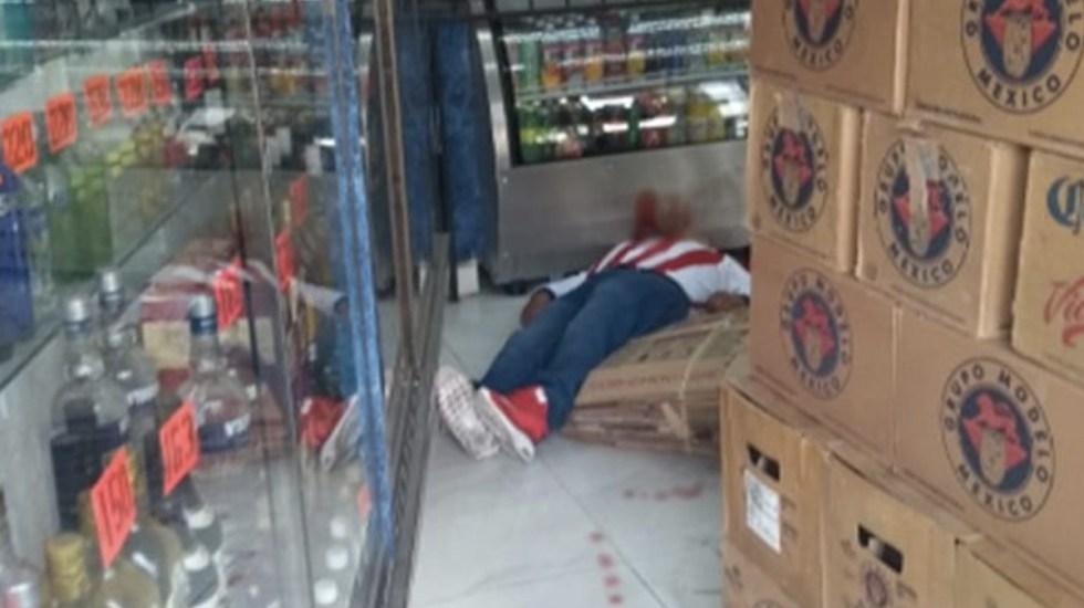 Matan a hombre en vinatería de Cuauhtémoc - Foto de Internet
