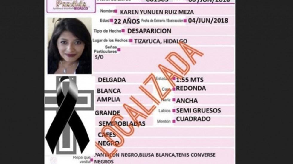 Investigan feminicidio en Hidalgo