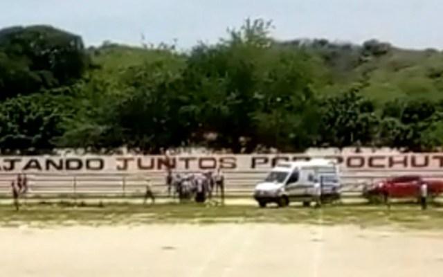 Detienen a sospechoso por ataque a candidato en Pochutla, Oaxaca - Foto de Quadratín