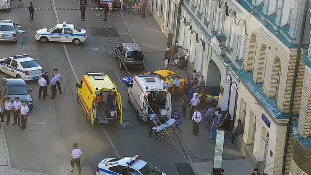 Así intentó huir taxista que arrolló a mexicanas en Moscú