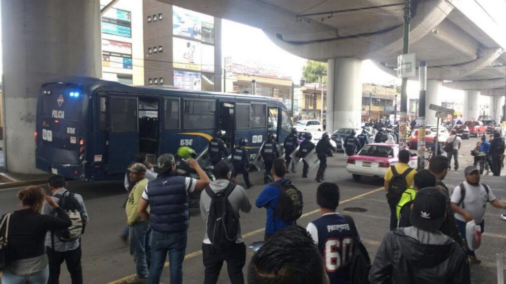 Balacera en avenida Tláhuac deja cuatro muertos - Foto de @252COMS