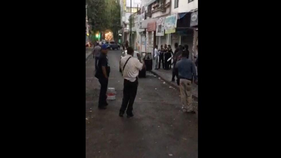 Balacera en La Merced deja dos heridos