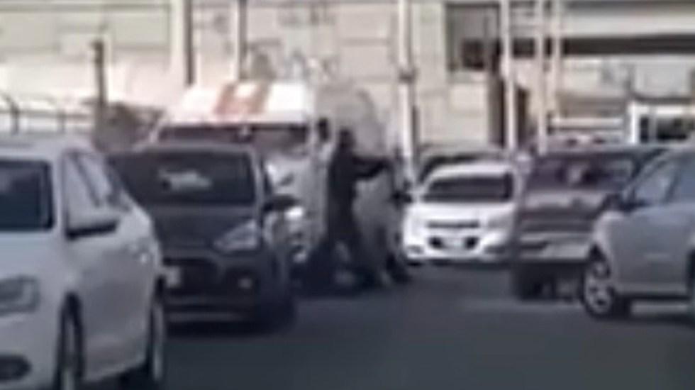 #Video Policía se enfrenta a ladrones en Texcoco - Foto de Internet