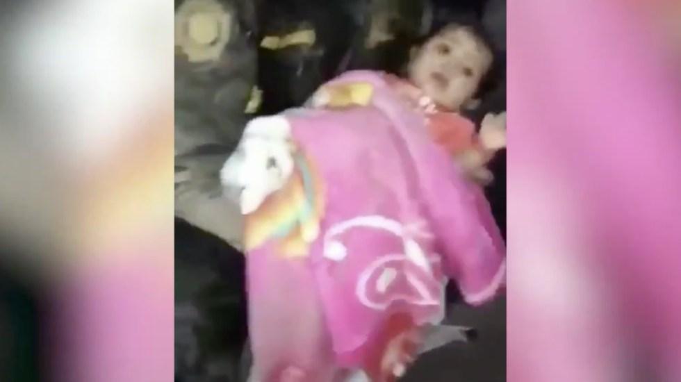 #Video Así rescataron a bebé tras erupción del Volcán de Fuego en Guatemala - Foto de @GuatemalaGob