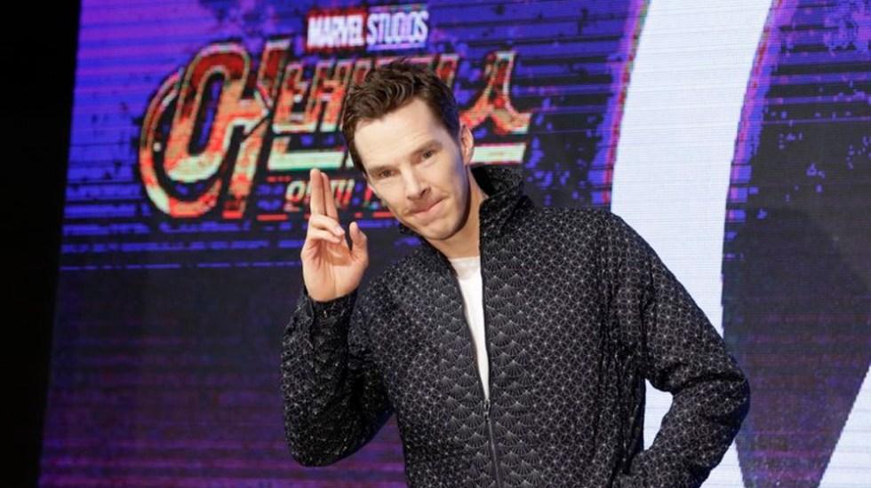 Benedict Cumberbatch defiende a repartidor golpeado en Londres - Foto de AP