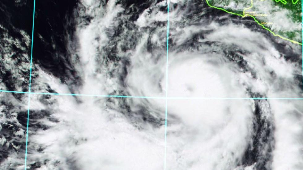 Bud ya es huracán categoría 1 - Foto de @conagua_clima