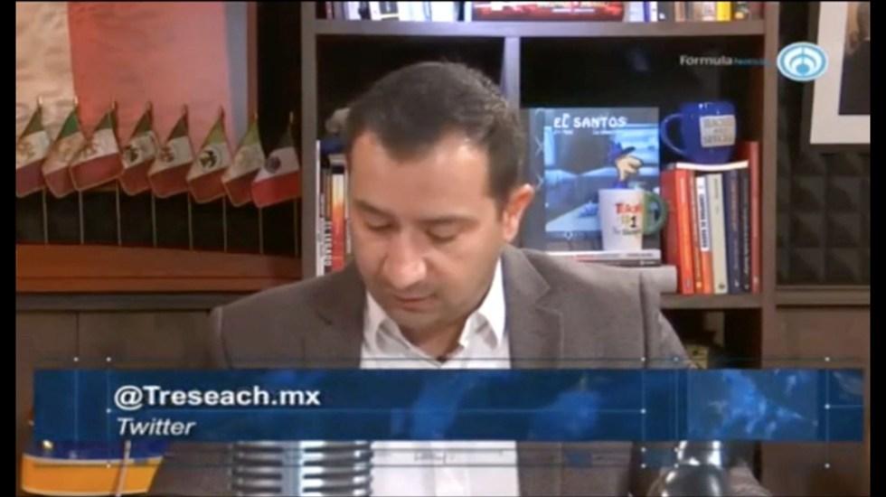 Continúa la ventaja de López Obrador en encuestas - Captura de Pantalla