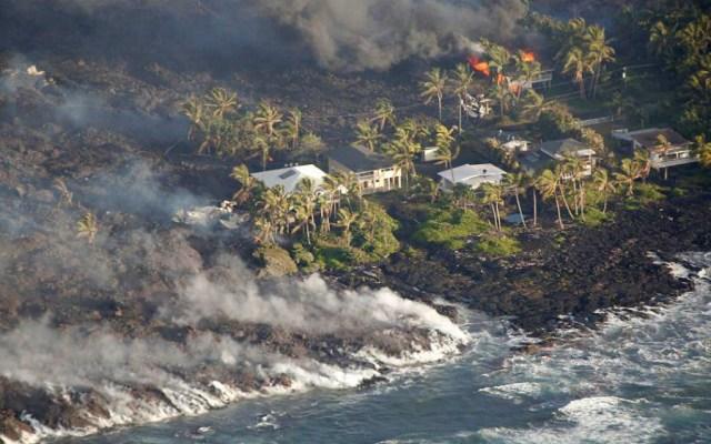 #Video Revelan nuevas imágenes de la devastación del Kilauea - Foto de Reuters