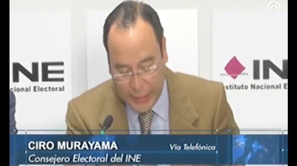 Conteo rápido de elección presidencial saldrá a las 23:00 h: Murayama