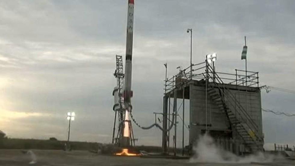 #Video Se estrella cohete de multimillonario japonés - Captura de pantalla
