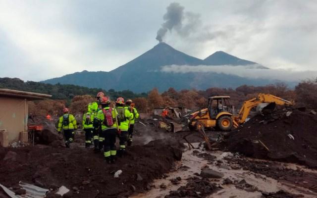 Suman 121 muertos por erupción de volcán de Fuego en Guatemala - Foto de @ConredGuatemala