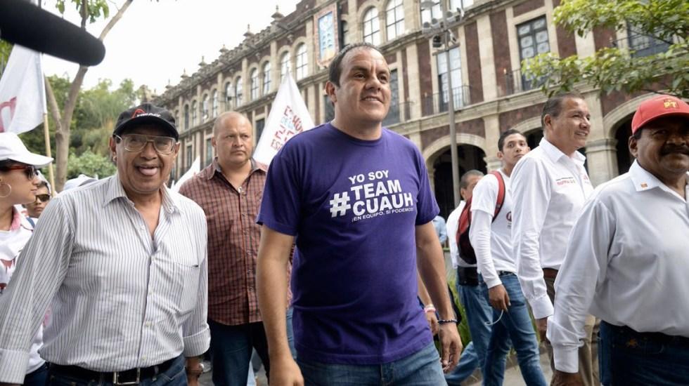 Denuncia Cuauhtémoc Blanco atentado en su contra - Foto de @cuauhtemocb10