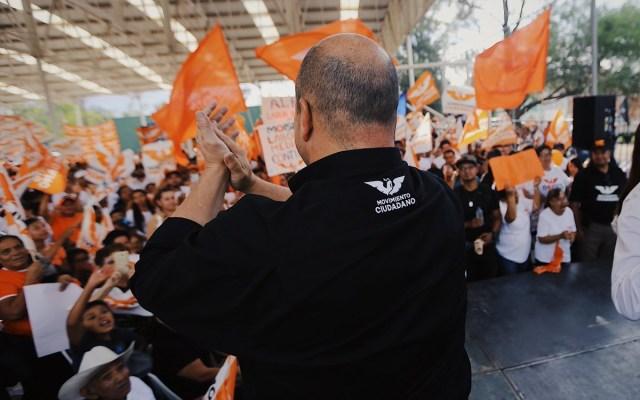 Enrique Alfaro continúa a la cabeza en el PREP de Jalisco - Foto de @EnriqueAlfaroR