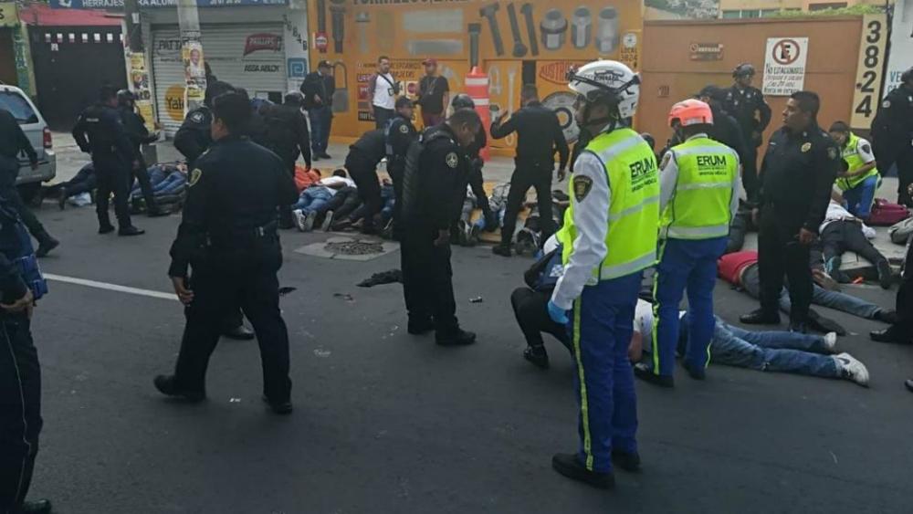 Balacera en Tláhuac deja 4 muertos, un herido y 25 detenidos
