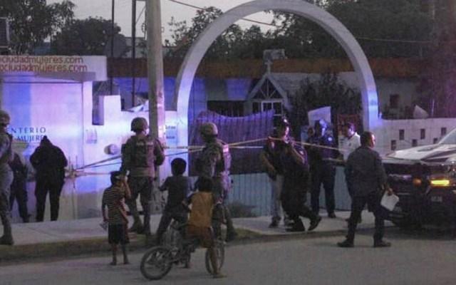 Disparan contra candidata y militante del PRI en Isla Mujeres - Atentado contra candidata y militante del PRI en Isla Mujeres. Foto de Twitter