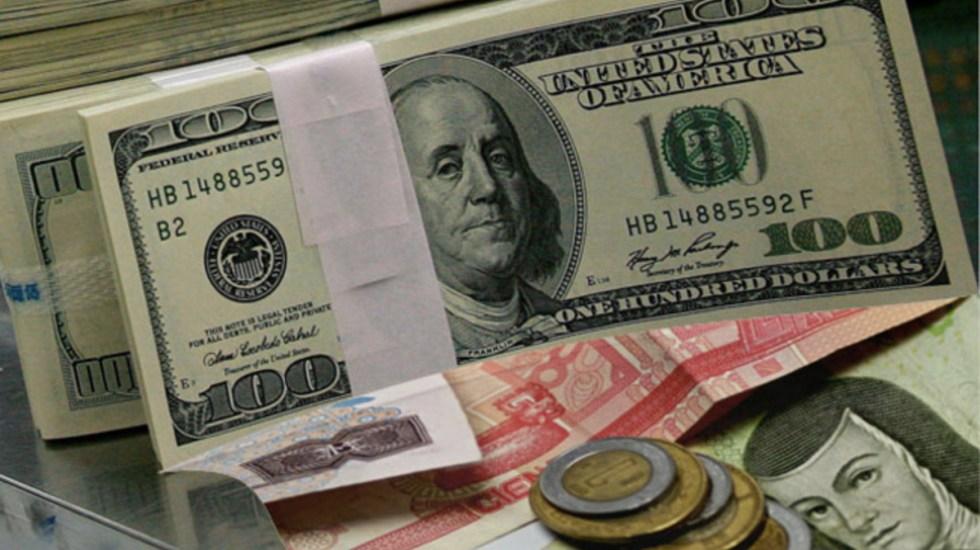 El dólar alcanza la barrera de los 21 pesos - Foto de Internet