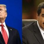 Condiciona EE.UU. posible reunión entre Trump y Maduro - Condiciona EE.UU. posible reunión entre Trump y Maduro