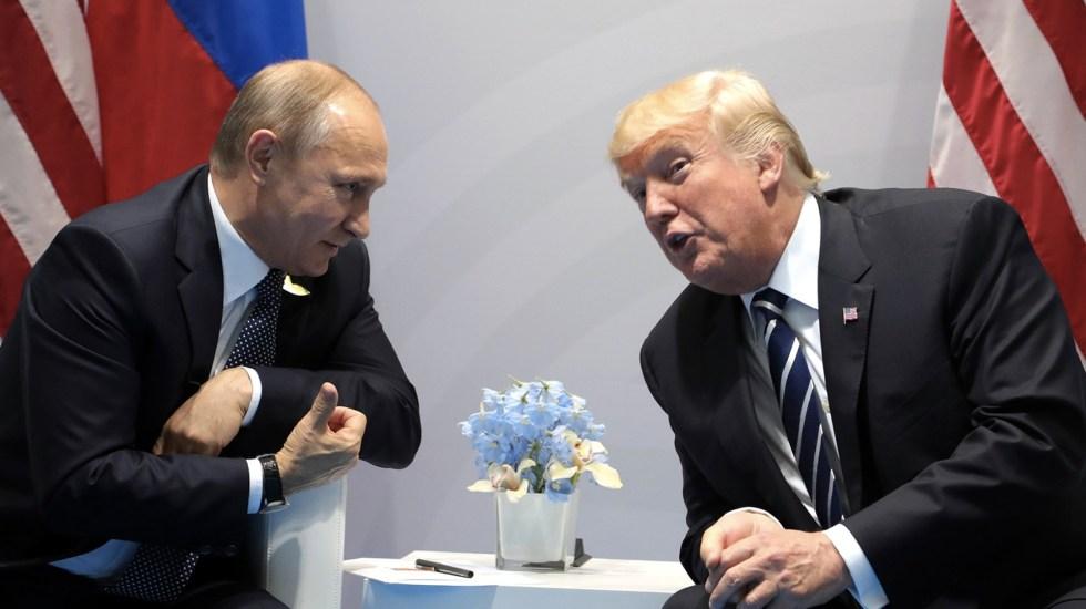 Reunión entre Trump y Putin no será cancelada: Casa Blanca - Foto de  AP