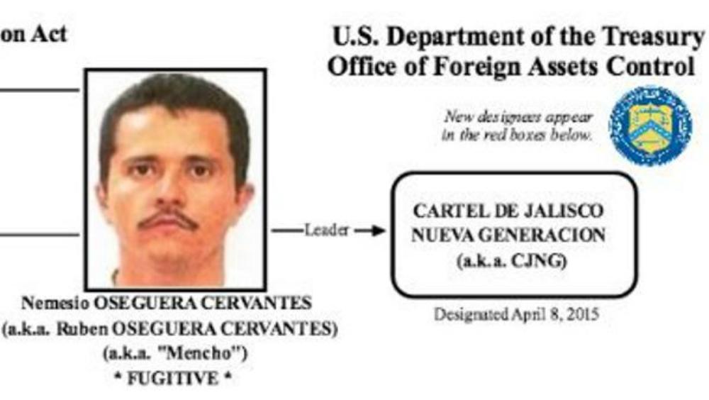 Detienen en Jalisco a cuñados de 'El Mencho' - Foto de U.S. Department of Treasury