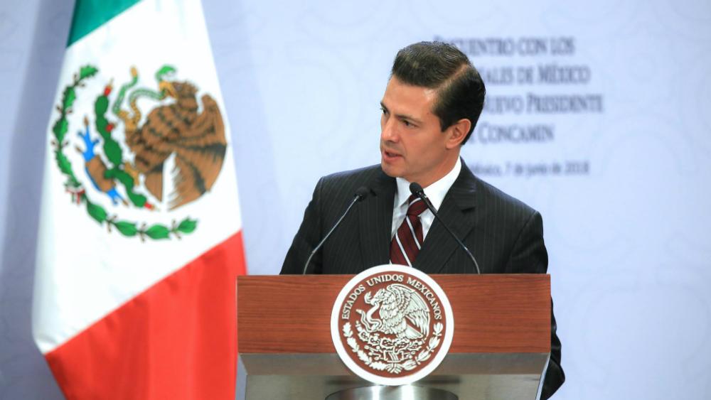 Peña Nieto refrenda compromiso para respetar decisión de votantes - Foto de Enrique Peña Nieto