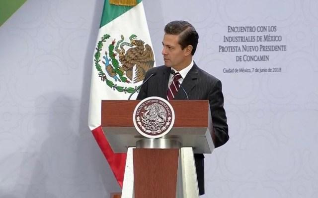 EPN pide votar por quien continúe sobre los logros de su mandato - Foto de @PresidenciaMX