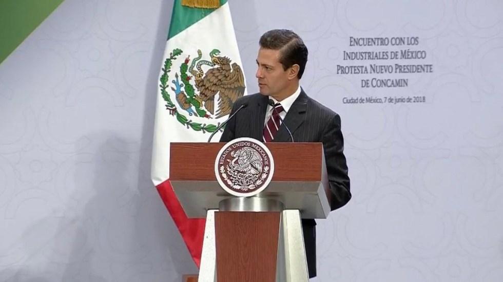 EPN promete a ciudadanos voto libre y respeto a su elección - Foto de @PresidenciaMX