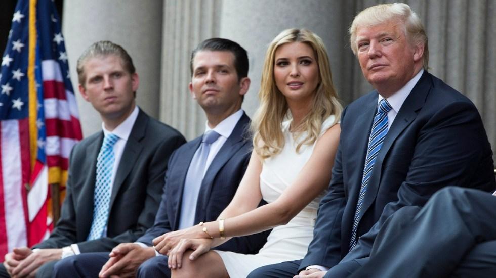 Fiscalía de Nueva York demanda a Trump y sus hijos - Foto de internet