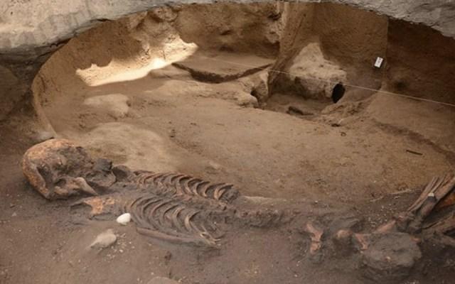 Encuentran fosa prehispánica en la Ciudad de México - Foto de Internet