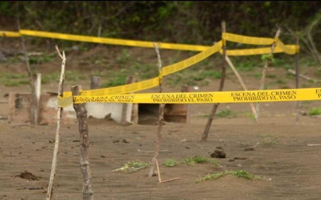 Segob halla 873 fosas clandestinas con más de mil cuerpos - Fosa clandestina. Foto de EFE