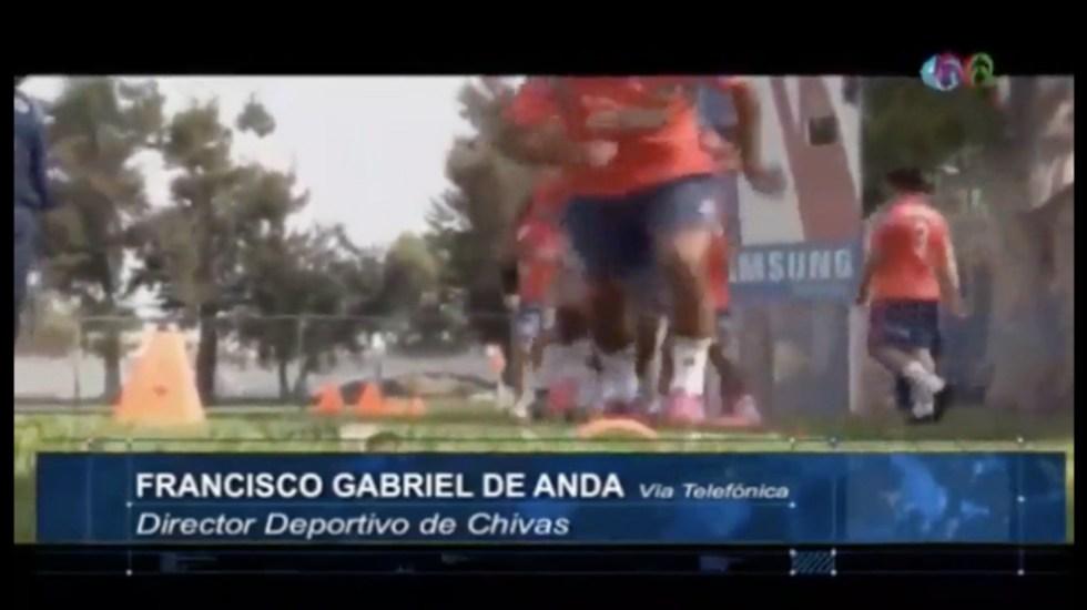 Matías Almeyda es candidato natural a dirigir la Selección: De Anda - Captura de Pantalla