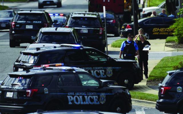 La policía sabía de las amenazas hacía Capital Gazette