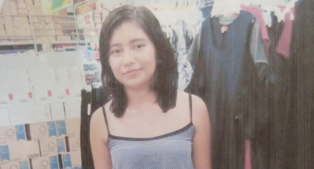 Encuentran dentro de maleta cadáver de alumna desaparecida - Biiani Rosales. Foto de NVINoticias