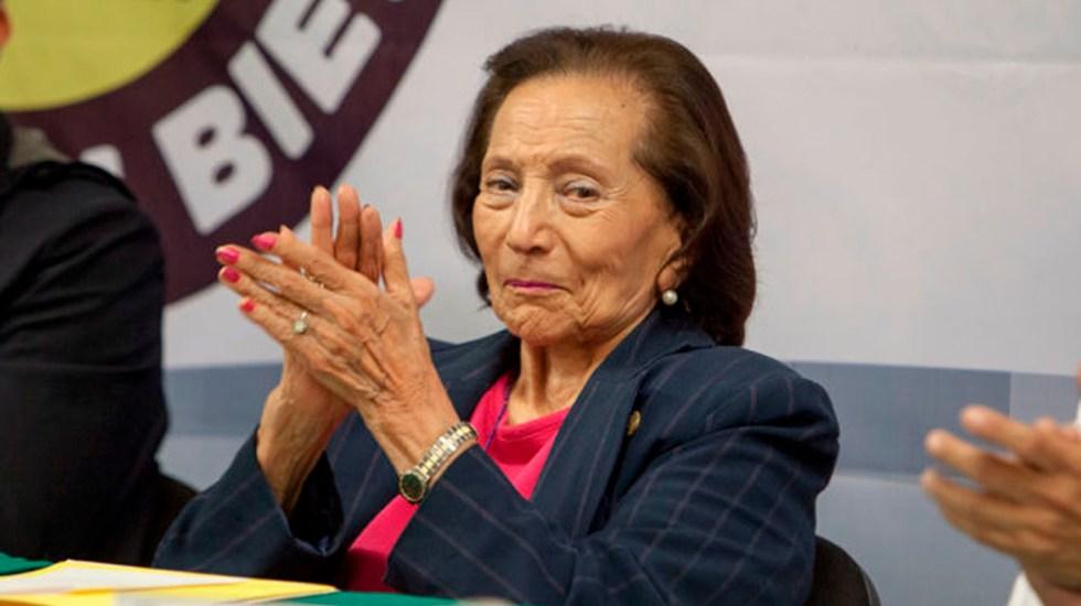Ifigenia Martínez renuncia al PRD - Foto de internet