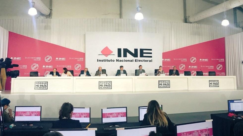 #EnVivo Segunda Cadena Nacional del INE sobre elecciones de 1 de julio - Foto de @MarcoBanos