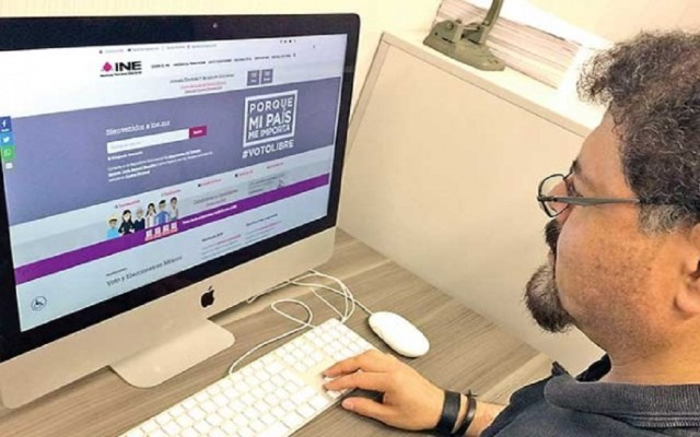 INE sufre 500 mil ataques cibernéticos al mes - Foto de Excélsior