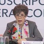 Janine Otálora, presidenta del TEPJF. Foto Captura de Pantalla