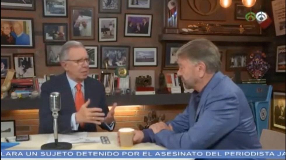 """""""Donald Trump nunca va a cambiar"""": Jorge Castañeda - Captura de Pantalla"""