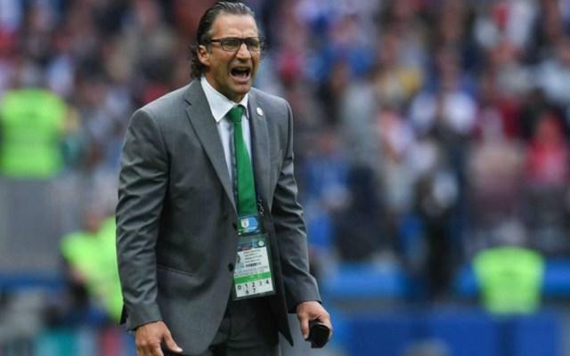 Arabia Saudita ya despidió a un técnico en pleno Mundial - Foto de AFP