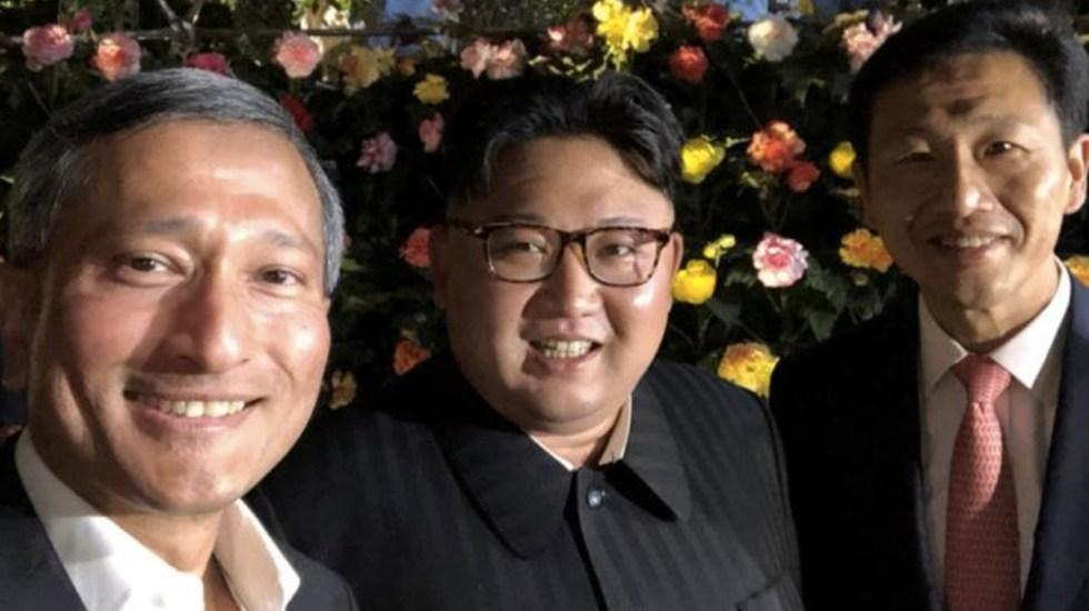 Kim Jong-un pasea por Singapur previo a encuentro con Trump - Foto de Facebook