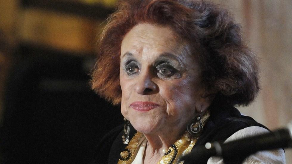 """Muere a los 88 años María Luisa """"La China"""" Mendoza - Foto de Milenio"""