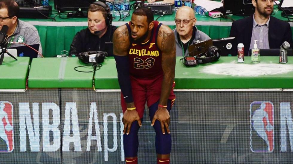 LeBron James rechaza opción de jugador y será agente libre - Foto de Getty Images