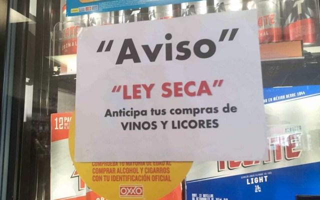 Ley Seca por elección extraordinaria en Monterrey - Foto de Archivo