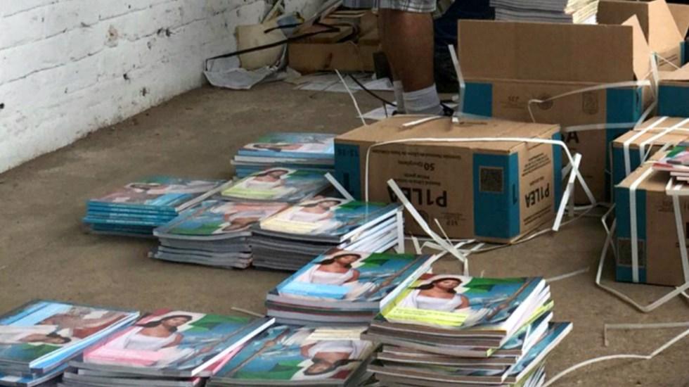 SEP denuncia intento de CNTE por frenar entrega de libros en Chiapas - Foto de Internet