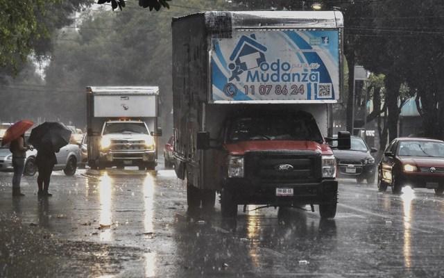 Lluvia de ligera a fuerte en seis delegaciones - Foto de Quadratín