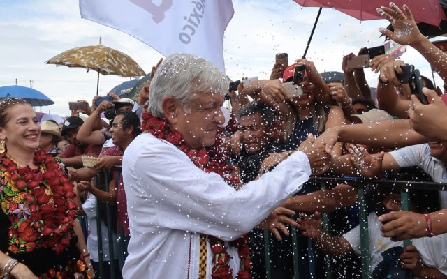 Foto de Twitter López Obrador