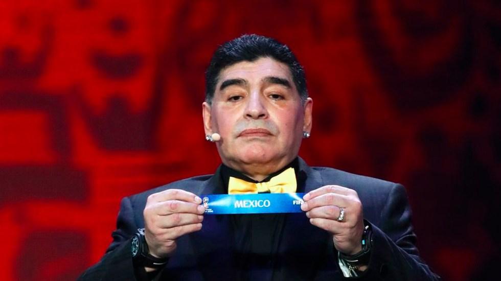 México no merece ser sede del Mundial: Maradona - Foto de internet