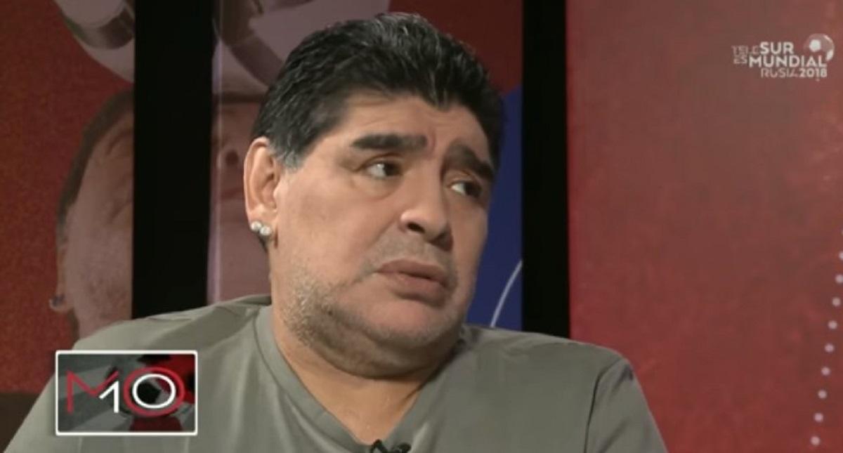 ¿La FIFA censuró a Maradona?
