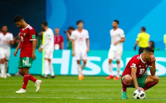 Jugador marroquí que anotó autogol se entera que será padre