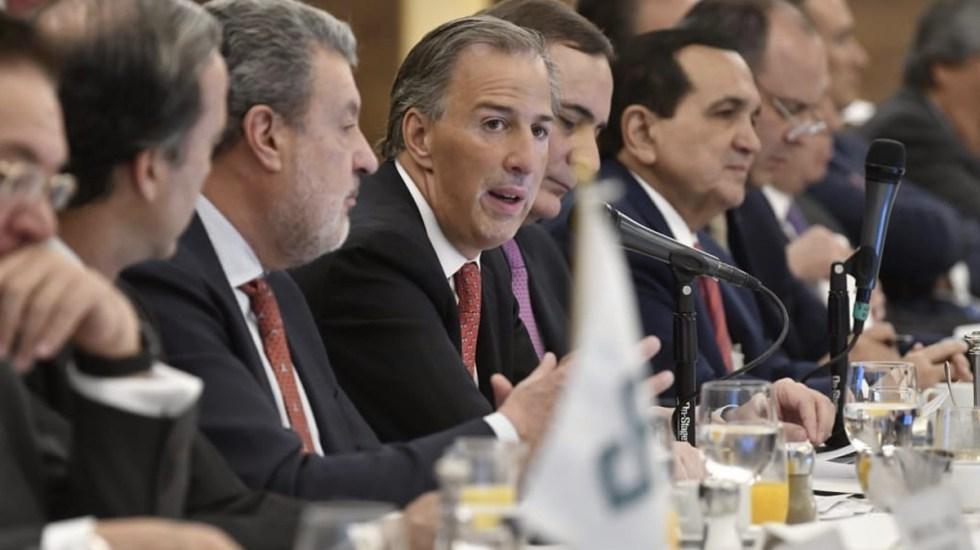 Meade presenta propuestas de gobierno al CCE